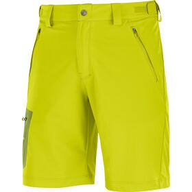 Salomon Wayfarer Spodnie krótkie Mężczyźni żółty